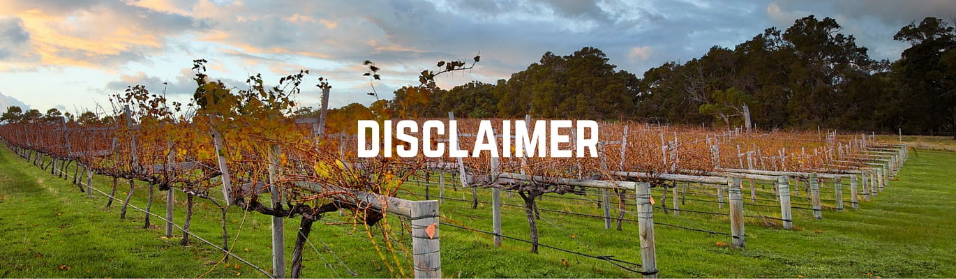 Disclaimer header image