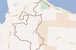 Dunsborough Bigger Hills Cycling Map