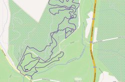 The Pines Mountain Biking Trail Map