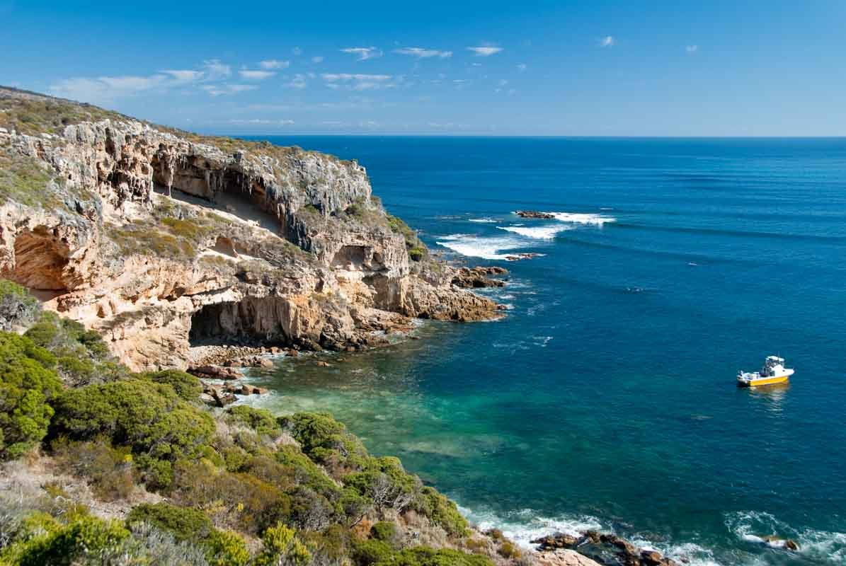 Cape Naturaliste. 5 northern towns in the Margaret River Region