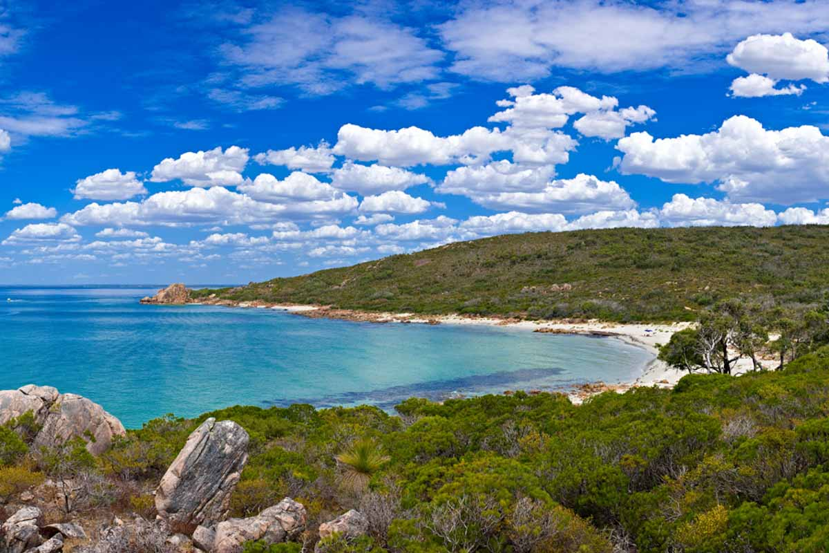 Castle Bay. 5 northern towns in the Margaret River Region