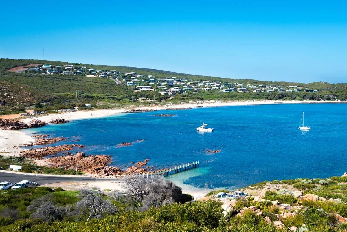 Gracetown on the hill. 5 northern towns in the Margaret River Region