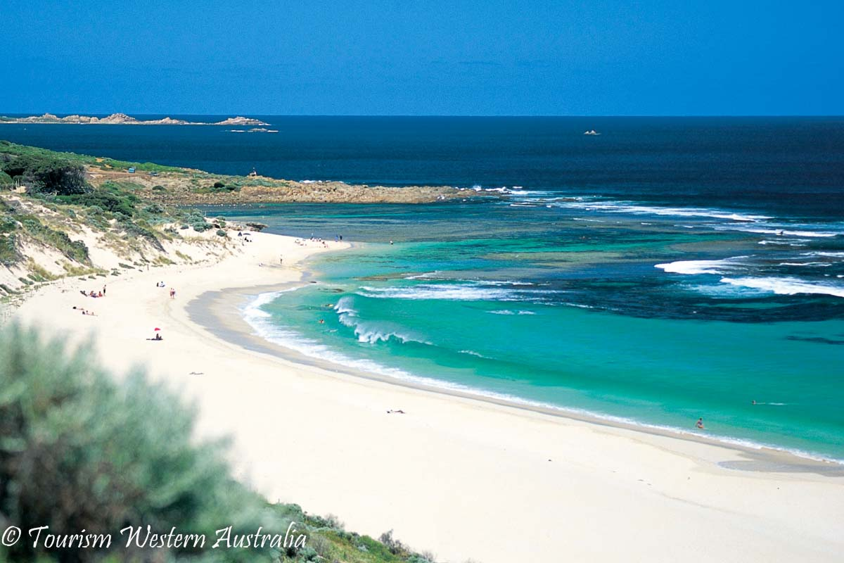 Yallingup Beach. 5 northern towns in the Margaret River Region