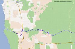 Coast to Nannup Track part 1 ma