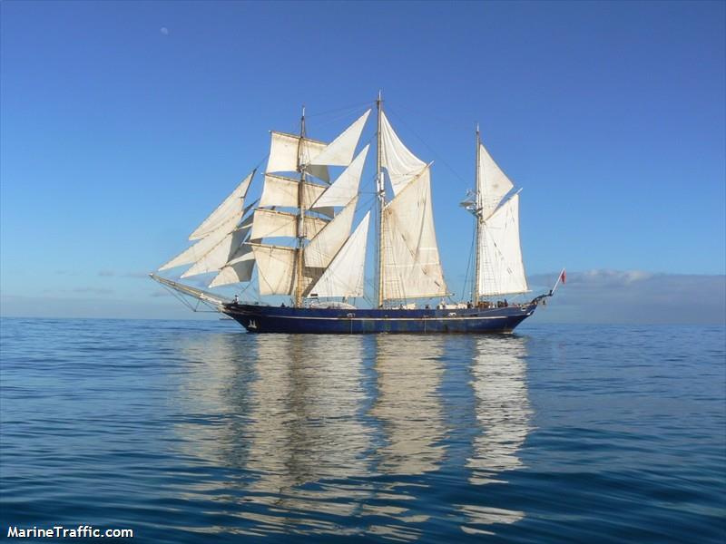 Leeuwin Replica sails