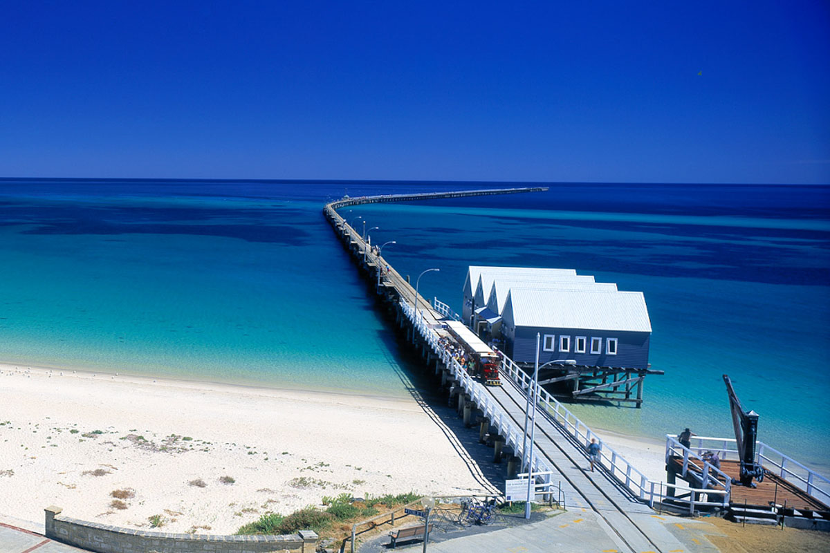 Busselton Jetty now stands at 1.8 km long.
