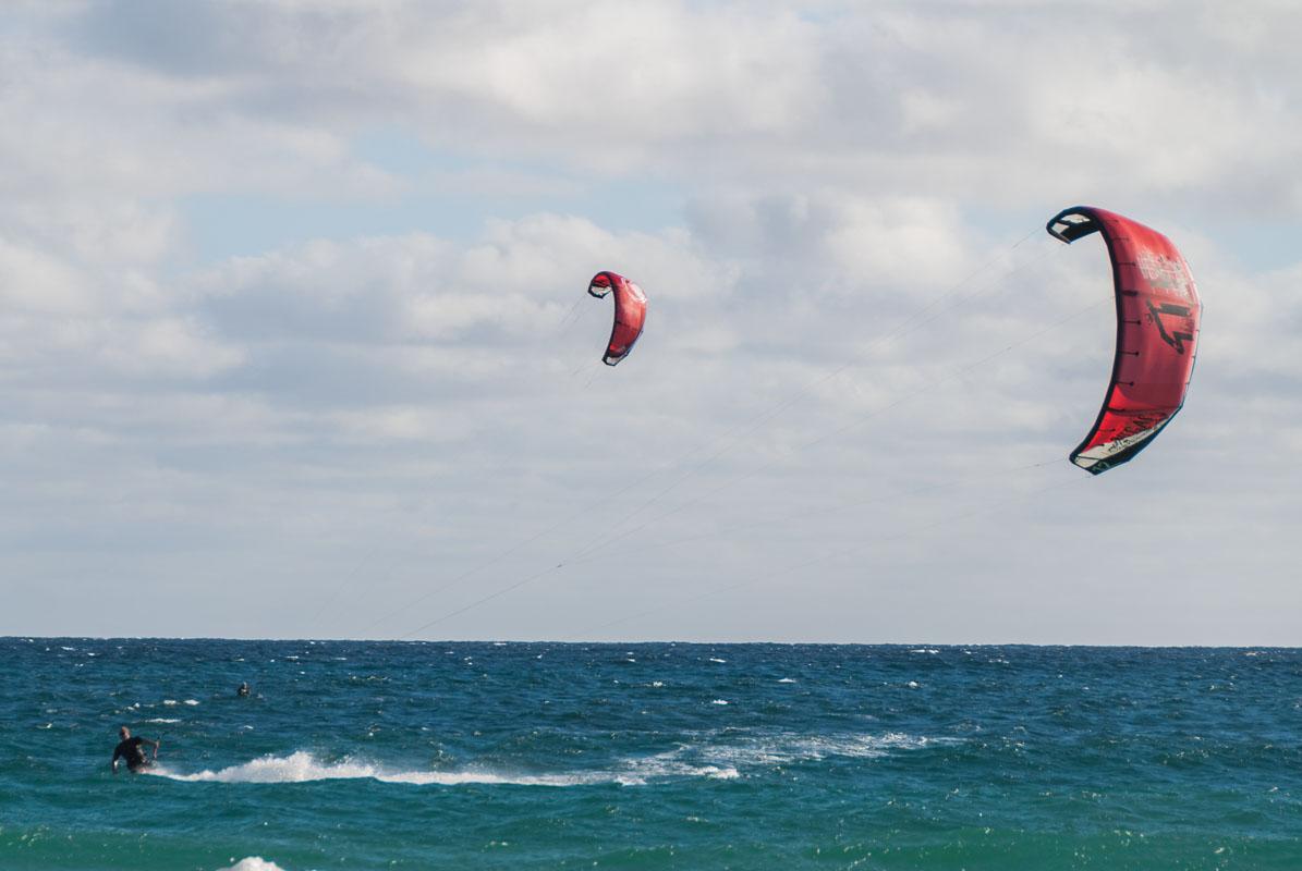 Kite Boarding winds