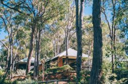 One of the chalets at Dunsborough Ridge Retreat