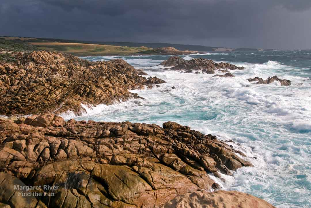 Storm rolling in at Canal Rocks