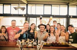Bushtucker Tours at a local brewery