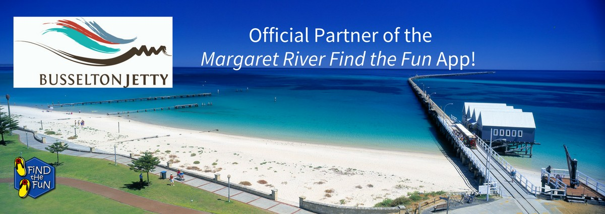 Busselton Jetty is our official partner!