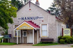 Nannup Historical Society outside view